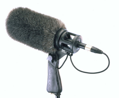 Sennheiser MKH-416 Microphone with Pistol Grip