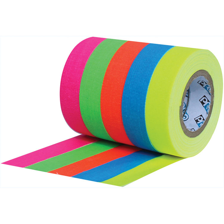 Gaffer Tape 1 inch Matt White or Fluorescent