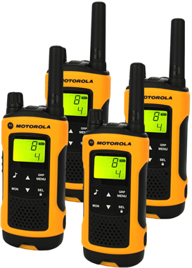 Motorola Walkie Talkie Quad Pack